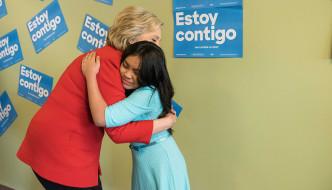 ELLA TE RESPALDARA: Secretaria Hillary Rodham Clinton, Candidata Demócrata por los Estado Unidos de América