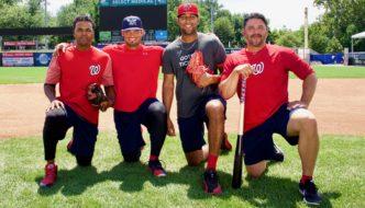 Jugadores de Béisbol Latinos, Estrellas de los Harrisburg Senators